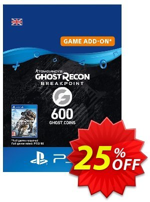 Ghost Recon Breakpoint - 600 Ghost Coins PS4 (Netherlands) discount coupon Ghost Recon Breakpoint - 600 Ghost Coins PS4 (Netherlands) Deal 2021 CDkeys - Ghost Recon Breakpoint - 600 Ghost Coins PS4 (Netherlands) Exclusive Sale offer for iVoicesoft