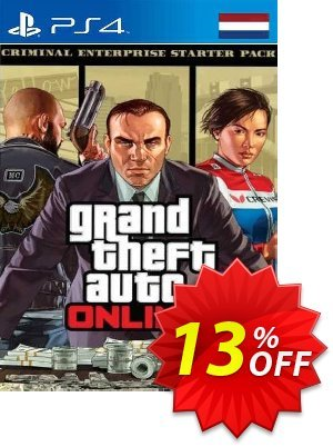 Grand Theft Auto Online - Criminal Enterprise Starter Pack PS4 (Netherlands) discount coupon Grand Theft Auto Online - Criminal Enterprise Starter Pack PS4 (Netherlands) Deal 2021 CDkeys - Grand Theft Auto Online - Criminal Enterprise Starter Pack PS4 (Netherlands) Exclusive Sale offer for iVoicesoft