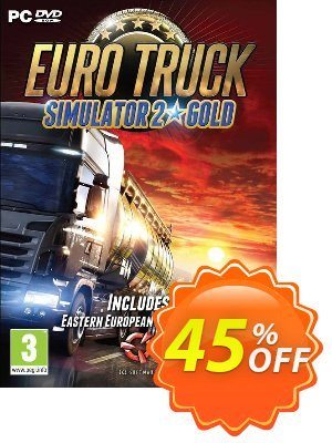 Euro Truck Simulator 2 Gold PC 프로모션 코드 Euro Truck Simulator 2 Gold PC Deal 프로모션: Euro Truck Simulator 2 Gold PC Exclusive offer for iVoicesoft
