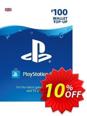 Playstation Network (PSN) Card - £100 discount coupon Playstation Network (PSN) Card - £100 Deal 2021 CDkeys - Playstation Network (PSN) Card - £100 Exclusive Sale offer for iVoicesoft