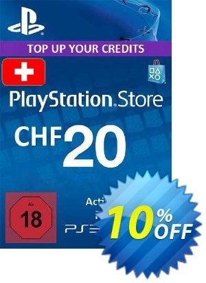 PlayStation Network (PSN) Card - 20 CHF (Switzerland) discount coupon PlayStation Network (PSN) Card - 20 CHF (Switzerland) Deal 2021 CDkeys - PlayStation Network (PSN) Card - 20 CHF (Switzerland) Exclusive Sale offer for iVoicesoft
