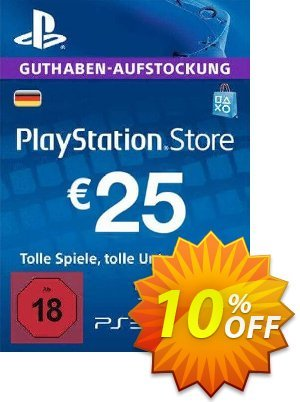 PlayStation Network (PSN) Card - 25 EUR (Germany) discount coupon PlayStation Network (PSN) Card - 25 EUR (Germany) Deal 2021 CDkeys - PlayStation Network (PSN) Card - 25 EUR (Germany) Exclusive Sale offer for iVoicesoft