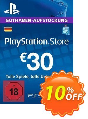 PlayStation Network (PSN) Card - 30 EUR (Germany) discount coupon PlayStation Network (PSN) Card - 30 EUR (Germany) Deal 2021 CDkeys - PlayStation Network (PSN) Card - 30 EUR (Germany) Exclusive Sale offer for iVoicesoft