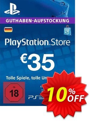 PlayStation Network (PSN) Card - 35 EUR (Germany) discount coupon PlayStation Network (PSN) Card - 35 EUR (Germany) Deal 2021 CDkeys - PlayStation Network (PSN) Card - 35 EUR (Germany) Exclusive Sale offer for iVoicesoft