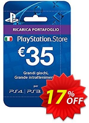 PlayStation Network (PSN) Card - 35 EUR (Italy) discount coupon PlayStation Network (PSN) Card - 35 EUR (Italy) Deal 2021 CDkeys - PlayStation Network (PSN) Card - 35 EUR (Italy) Exclusive Sale offer for iVoicesoft