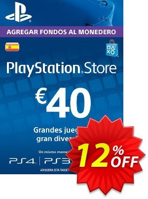 PlayStation Network (PSN) Card - 40 EUR (Spain) discount coupon PlayStation Network (PSN) Card - 40 EUR (Spain) Deal 2021 CDkeys - PlayStation Network (PSN) Card - 40 EUR (Spain) Exclusive Sale offer for iVoicesoft