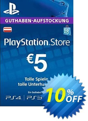 PlayStation Network (PSN) Card - 5 EUR (Germany) discount coupon PlayStation Network (PSN) Card - 5 EUR (Germany) Deal 2021 CDkeys - PlayStation Network (PSN) Card - 5 EUR (Germany) Exclusive Sale offer for iVoicesoft