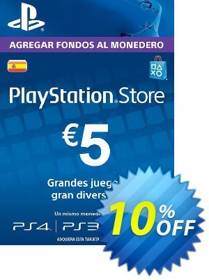 PlayStation Network (PSN) Card - 5 EUR (Spain) discount coupon PlayStation Network (PSN) Card - 5 EUR (Spain) Deal 2021 CDkeys - PlayStation Network (PSN) Card - 5 EUR (Spain) Exclusive Sale offer for iVoicesoft