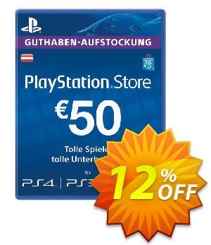 PlayStation Network (PSN) Card - 50 EUR (Austria) discount coupon PlayStation Network (PSN) Card - 50 EUR (Austria) Deal 2021 CDkeys - PlayStation Network (PSN) Card - 50 EUR (Austria) Exclusive Sale offer for iVoicesoft