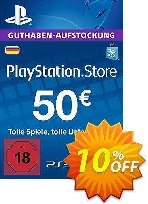 PlayStation Network (PSN) Card - 50 EUR (Germany) discount coupon PlayStation Network (PSN) Card - 50 EUR (Germany) Deal 2021 CDkeys - PlayStation Network (PSN) Card - 50 EUR (Germany) Exclusive Sale offer for iVoicesoft