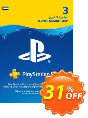 PlayStation Plus - 3 Month Subscription (UAE) discount coupon PlayStation Plus - 3 Month Subscription (UAE) Deal 2021 CDkeys - PlayStation Plus - 3 Month Subscription (UAE) Exclusive Sale offer for iVoicesoft