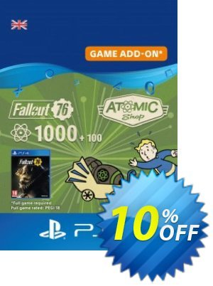 Fallout 76 - 1100 Atoms PS4 discount coupon Fallout 76 - 1100 Atoms PS4 Deal 2021 CDkeys - Fallout 76 - 1100 Atoms PS4 Exclusive Sale offer for iVoicesoft