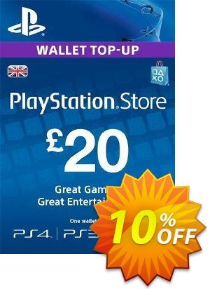 Playstation Network Card - £20 (PS Vita/PS3/PS4) discount coupon Playstation Network Card - £20 (PS Vita/PS3/PS4) Deal 2021 CDkeys - Playstation Network Card - £20 (PS Vita/PS3/PS4) Exclusive Sale offer for iVoicesoft