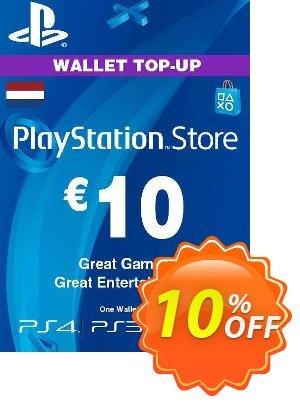 PlayStation Network (PSN) Card - 10 EUR (Netherlands) discount coupon PlayStation Network (PSN) Card - 10 EUR (Netherlands) Deal 2021 CDkeys - PlayStation Network (PSN) Card - 10 EUR (Netherlands) Exclusive Sale offer for iVoicesoft