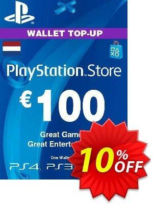 PlayStation Network (PSN) Card - 100 EUR (Netherlands) discount coupon PlayStation Network (PSN) Card - 100 EUR (Netherlands) Deal 2021 CDkeys - PlayStation Network (PSN) Card - 100 EUR (Netherlands) Exclusive Sale offer for iVoicesoft