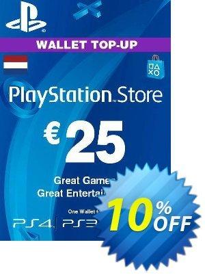 PlayStation Network (PSN) Card - 25 EUR (Netherlands) discount coupon PlayStation Network (PSN) Card - 25 EUR (Netherlands) Deal 2021 CDkeys - PlayStation Network (PSN) Card - 25 EUR (Netherlands) Exclusive Sale offer for iVoicesoft