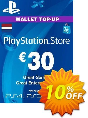 PlayStation Network (PSN) Card - 30 EUR (Netherlands) discount coupon PlayStation Network (PSN) Card - 30 EUR (Netherlands) Deal 2021 CDkeys - PlayStation Network (PSN) Card - 30 EUR (Netherlands) Exclusive Sale offer for iVoicesoft