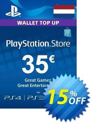 PlayStation Network (PSN) Card - 35 EUR (Netherlands) discount coupon PlayStation Network (PSN) Card - 35 EUR (Netherlands) Deal 2021 CDkeys - PlayStation Network (PSN) Card - 35 EUR (Netherlands) Exclusive Sale offer for iVoicesoft