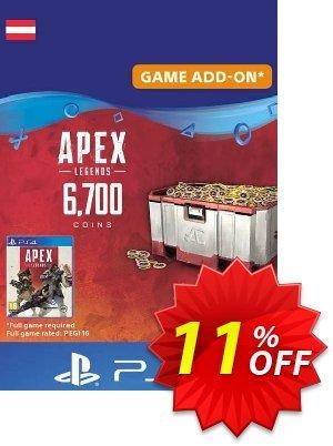 Apex Legends 6700 Coins PS4 (Austria) discount coupon Apex Legends 6700 Coins PS4 (Austria) Deal 2021 CDkeys - Apex Legends 6700 Coins PS4 (Austria) Exclusive Sale offer for iVoicesoft