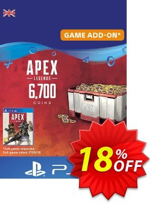 Apex Legends 6700 Coins PS4 (UK) discount coupon Apex Legends 6700 Coins PS4 (UK) Deal 2021 CDkeys - Apex Legends 6700 Coins PS4 (UK) Exclusive Sale offer for iVoicesoft