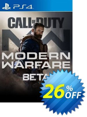 Call of Duty Modern Warfare Beta PS4 discount coupon Call of Duty Modern Warfare Beta PS4 Deal 2021 CDkeys - Call of Duty Modern Warfare Beta PS4 Exclusive Sale offer for iVoicesoft