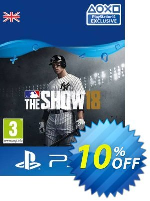 MLB 18 The Show PS4 優惠券,折扣碼 MLB 18 The Show PS4 Deal 2021 CDkeys,促銷代碼: MLB 18 The Show PS4 Exclusive Sale offer for iVoicesoft