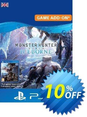 Monster Hunter World: Iceborne PS4 (UK) discount coupon Monster Hunter World: Iceborne PS4 (UK) Deal 2021 CDkeys - Monster Hunter World: Iceborne PS4 (UK) Exclusive Sale offer for iVoicesoft
