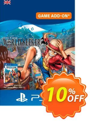 One Piece World Seeker: Episode Pass PS4 (UK) discount coupon One Piece World Seeker: Episode Pass PS4 (UK) Deal 2021 CDkeys - One Piece World Seeker: Episode Pass PS4 (UK) Exclusive Sale offer for iVoicesoft