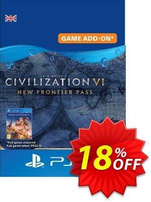 Sid Meier's Civilization VI  - New Frontier Pass PS4 UK discount coupon Sid Meier's Civilization VI  - New Frontier Pass PS4 UK Deal 2021 CDkeys - Sid Meier's Civilization VI  - New Frontier Pass PS4 UK Exclusive Sale offer for iVoicesoft