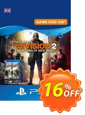 Tom Clancy's The Division 2 - Warlords of New York - Expansion PS4 UK discount coupon Tom Clancy's The Division 2 - Warlords of New York - Expansion PS4 UK Deal 2021 CDkeys - Tom Clancy's The Division 2 - Warlords of New York - Expansion PS4 UK Exclusive Sale offer for iVoicesoft