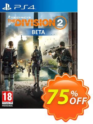 Tom Clancys The Division 2 PS4 Beta discount coupon Tom Clancys The Division 2 PS4 Beta Deal 2021 CDkeys - Tom Clancys The Division 2 PS4 Beta Exclusive Sale offer for iVoicesoft
