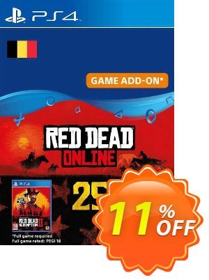 Red Dead Online - 25 Gold Bars PS4 (Belgium) discount coupon Red Dead Online - 25 Gold Bars PS4 (Belgium) Deal 2021 CDkeys - Red Dead Online - 25 Gold Bars PS4 (Belgium) Exclusive Sale offer for iVoicesoft