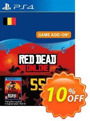 Red Dead Online - 55 Gold Bars PS4 (Belgium) discount coupon Red Dead Online - 55 Gold Bars PS4 (Belgium) Deal 2021 CDkeys - Red Dead Online - 55 Gold Bars PS4 (Belgium) Exclusive Sale offer for iVoicesoft