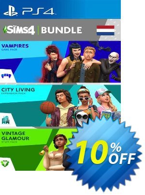 The Sims 4 Bundle - City Living  Vampires  Vintage Stuff Pack PS4 (Netherlands) discount coupon The Sims 4 Bundle - City Living  Vampires  Vintage Stuff Pack PS4 (Netherlands) Deal 2021 CDkeys - The Sims 4 Bundle - City Living  Vampires  Vintage Stuff Pack PS4 (Netherlands) Exclusive Sale offer for iVoicesoft