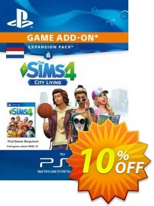 The Sims 4 - City Living Expansion Pack PS4 (Netherlands) discount coupon The Sims 4 - City Living Expansion Pack PS4 (Netherlands) Deal 2021 CDkeys - The Sims 4 - City Living Expansion Pack PS4 (Netherlands) Exclusive Sale offer for iVoicesoft