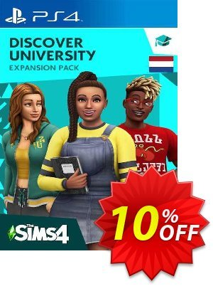 The Sims 4 - Discover University Expansion Pack PS4 (Netherlands) discount coupon The Sims 4 - Discover University Expansion Pack PS4 (Netherlands) Deal 2021 CDkeys - The Sims 4 - Discover University Expansion Pack PS4 (Netherlands) Exclusive Sale offer for iVoicesoft