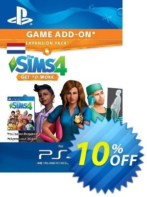 The Sims 4 - Get to Work Expansion Pack PS4 (Netherlands) discount coupon The Sims 4 - Get to Work Expansion Pack PS4 (Netherlands) Deal 2021 CDkeys - The Sims 4 - Get to Work Expansion Pack PS4 (Netherlands) Exclusive Sale offer for iVoicesoft