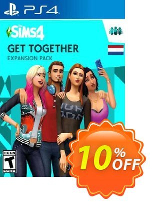 The Sims 4 - Get Together Expansion Pack PS4 (Netherlands) discount coupon The Sims 4 - Get Together Expansion Pack PS4 (Netherlands) Deal 2021 CDkeys - The Sims 4 - Get Together Expansion Pack PS4 (Netherlands) Exclusive Sale offer for iVoicesoft