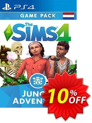 The Sims 4 - Jungle Adventure Expansion Pack PS4 (Netherlands) discount coupon The Sims 4 - Jungle Adventure Expansion Pack PS4 (Netherlands) Deal 2021 CDkeys - The Sims 4 - Jungle Adventure Expansion Pack PS4 (Netherlands) Exclusive Sale offer for iVoicesoft