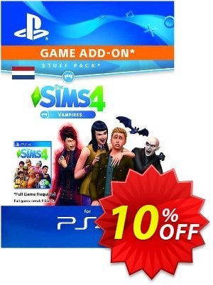 The Sims 4 - Vampires Expansion Pack PS4 (Netherlands) discount coupon The Sims 4 - Vampires Expansion Pack PS4 (Netherlands) Deal 2021 CDkeys - The Sims 4 - Vampires Expansion Pack PS4 (Netherlands) Exclusive Sale offer for iVoicesoft