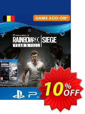 Tom Clancy's Rainbow Six Siege - Year 5 Pass PS4 (Belgium) discount coupon Tom Clancy's Rainbow Six Siege - Year 5 Pass PS4 (Belgium) Deal 2021 CDkeys - Tom Clancy's Rainbow Six Siege - Year 5 Pass PS4 (Belgium) Exclusive Sale offer for iVoicesoft