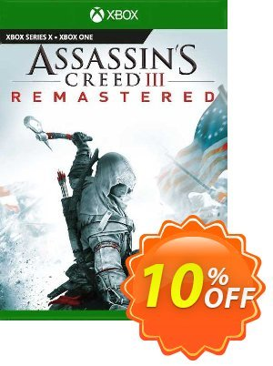 Assassin's Creed III  Remastered Xbox One (EU) discount coupon Assassin's Creed III  Remastered Xbox One (EU) Deal 2021 CDkeys - Assassin's Creed III  Remastered Xbox One (EU) Exclusive Sale offer for iVoicesoft