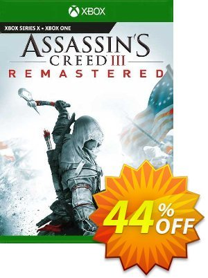 Assassin's Creed III  Remastered PC (EU) Coupon, discount Assassin's Creed III  Remastered PC (EU) Deal 2021 CDkeys. Promotion: Assassin's Creed III  Remastered PC (EU) Exclusive Sale offer for iVoicesoft
