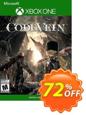 CODE VEIN Xbox One (UK) Coupon, discount CODE VEIN Xbox One (UK) Deal 2021 CDkeys. Promotion: CODE VEIN Xbox One (UK) Exclusive Sale offer for iVoicesoft