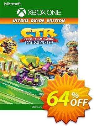 Crash Team Racing Nitro-Fueled - Nitros Oxide Edition Xbox One (UK) discount coupon Crash Team Racing Nitro-Fueled - Nitros Oxide Edition Xbox One (UK) Deal 2021 CDkeys - Crash Team Racing Nitro-Fueled - Nitros Oxide Edition Xbox One (UK) Exclusive Sale offer for iVoicesoft