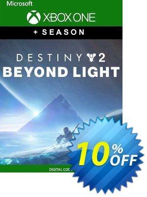 Destiny 2: Beyond Light + Season Xbox One (EU) discount coupon Destiny 2: Beyond Light + Season Xbox One (EU) Deal 2021 CDkeys - Destiny 2: Beyond Light + Season Xbox One (EU) Exclusive Sale offer for iVoicesoft