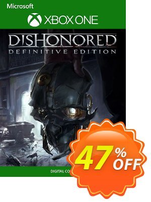 Dishonored Definitive Edition Xbox One (UK) discount coupon Dishonored Definitive Edition Xbox One (UK) Deal 2021 CDkeys - Dishonored Definitive Edition Xbox One (UK) Exclusive Sale offer for iVoicesoft