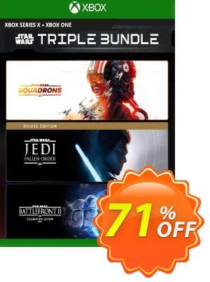 EA Star Wars Triple Bundle Xbox One (US) Coupon, discount EA Star Wars Triple Bundle Xbox One (US) Deal 2021 CDkeys. Promotion: EA Star Wars Triple Bundle Xbox One (US) Exclusive Sale offer for iVoicesoft