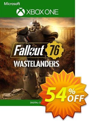 Fallout 76 Wastelanders Xbox One (US) discount coupon Fallout 76 Wastelanders Xbox One (US) Deal 2021 CDkeys - Fallout 76 Wastelanders Xbox One (US) Exclusive Sale offer for iVoicesoft