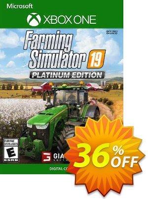 Farming Simulator 19 - Platinum Edition Xbox One (UK) discount coupon Farming Simulator 19 - Platinum Edition Xbox One (UK) Deal 2021 CDkeys - Farming Simulator 19 - Platinum Edition Xbox One (UK) Exclusive Sale offer for iVoicesoft